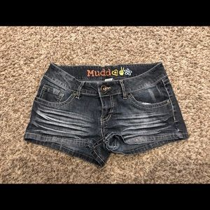 Muddy junior jean shorts
